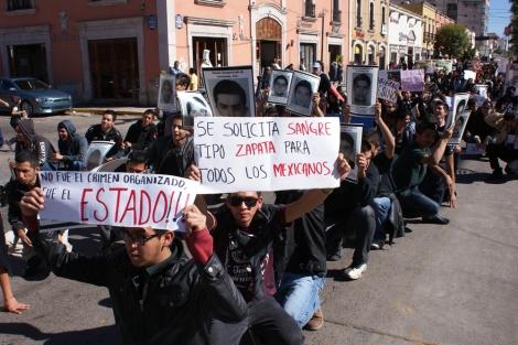 #Durango Marcha #20NovMx. Cuarta Jornada de acción global por Ayotzinapa.